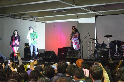 メキシコシティでの前田愛さんのコンサート