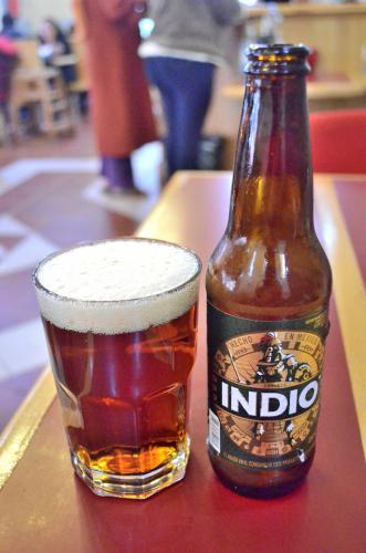 メキシコのビールインディオ