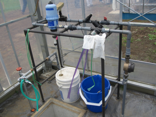 養液土耕栽培の液肥混入機