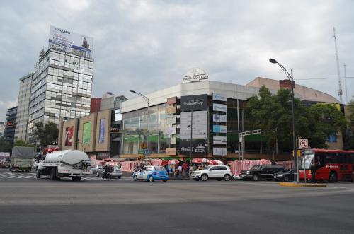 メキシコシティのメイドカフェハウスメイドカフェがあるビル