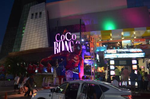 カンクンの夜のココボンゴ