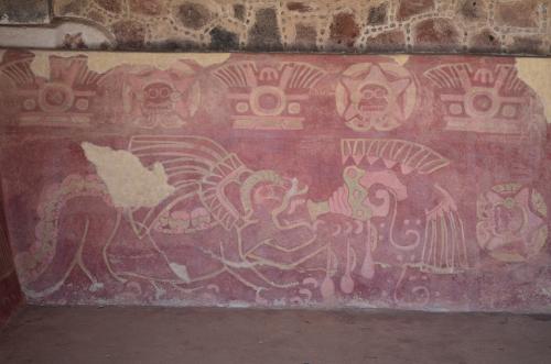 ジャガーの宮殿の壁画