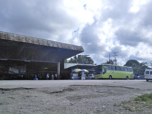 コスタリカの入出国管理施設