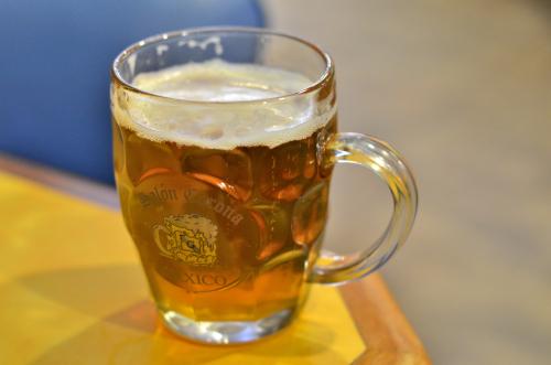 メキシココロナの生ビール