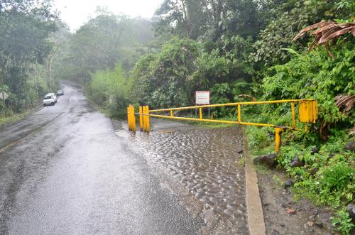 タバコン温泉から50m地点