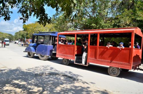 トゥルム遺跡の往復送迎バス