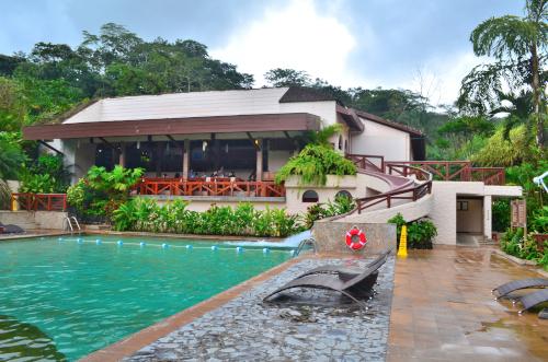 タバコン温泉の施設