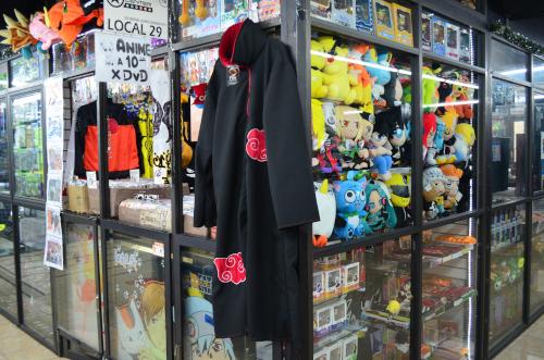 メキシコシティのアニメグッズ店