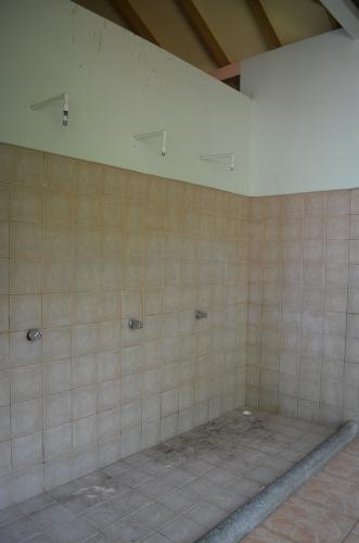 マヌエル・アントニオ国立公園のシャワー室