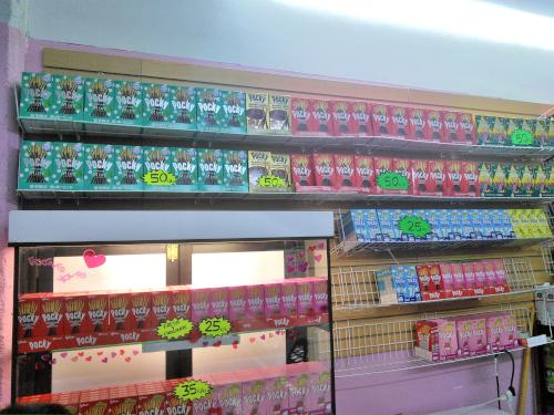 メキシコでポッキーが売っている