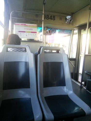 メキシコシティの路面バス