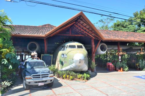 マヌエル・アントニオの飛行機レストラン