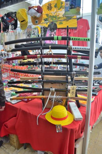 メキシコのオタクイベントで売っていた日本刀