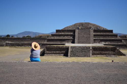 ケツァルコアトルの神殿の外観