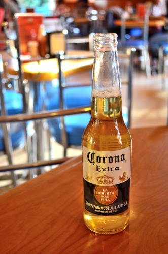 メキシコのビールコロナ