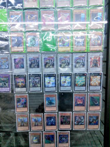 メキシコシティで売っている遊戯王カード