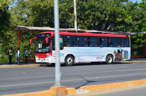 カンクンの路線バス