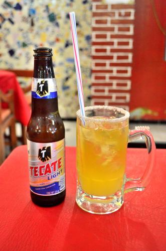 メキシコのビールカクテルチェラーダ