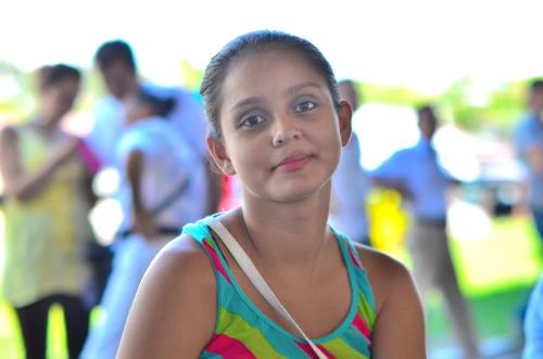 コスタリカのキレイな女性