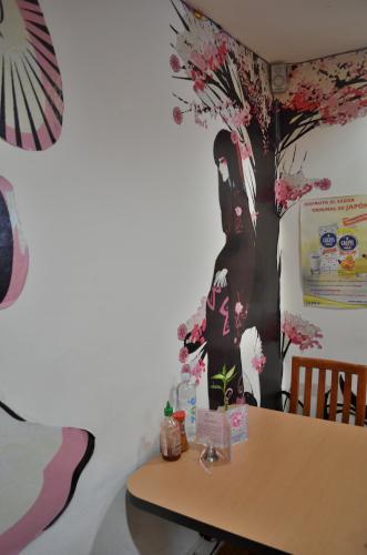 メキシコシティのメイドカフェの店内