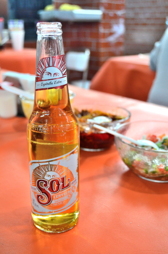 メキシコのビールソル