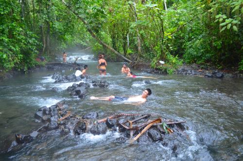 コスタリカの無料温泉