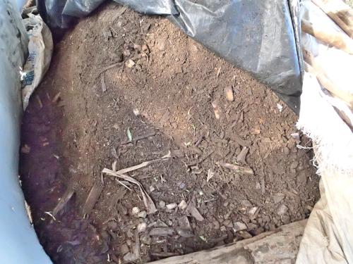 堆肥などの有機物で作った肥料