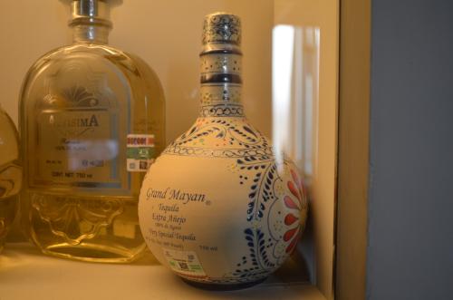 綺麗な模様のボトル