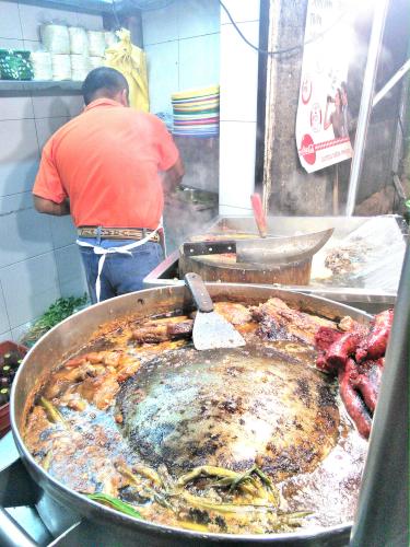 メキシコシティの行きつけのタコス屋