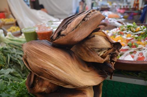 メキシコの小魚のタマル