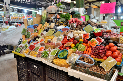 メキシコの市場