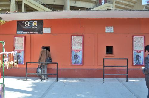 メキシコシティの闘牛場のチケット売り場