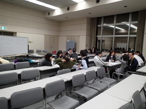 駒ヶ根訓練所のミーティング