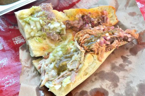 メキシコのサンドイッチ・トルタ