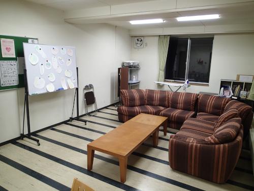 駒ヶ根訓練所の談話室
