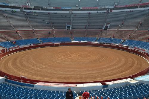メキシコシティの闘牛場の内部