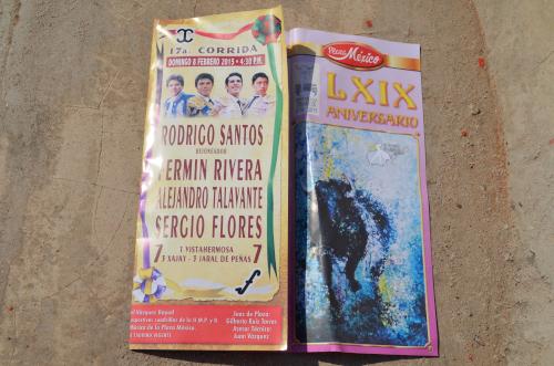 メキシコシティで闘牛見学