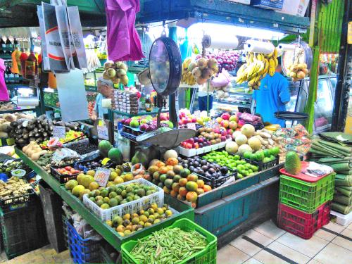 コスタリカの野菜販売店