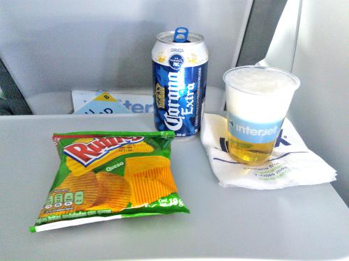 インテルジェットの機内ビール