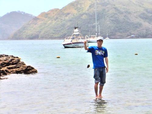 ダボガ島で釣ったハリセンボン