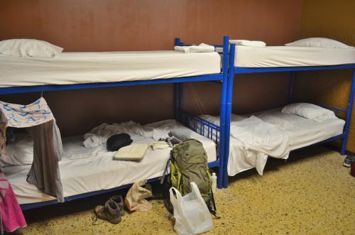 Hostal Pangeaのベッド