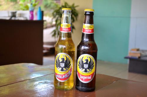 コスタリカのインペリアルビール