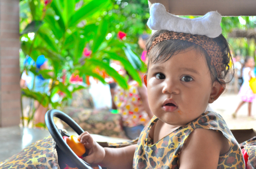 一歳の幼女