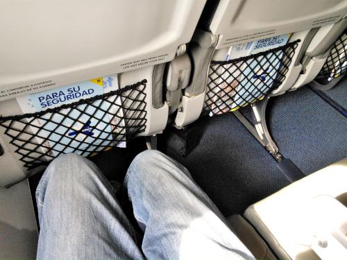 インテルジェットの座席間隔
