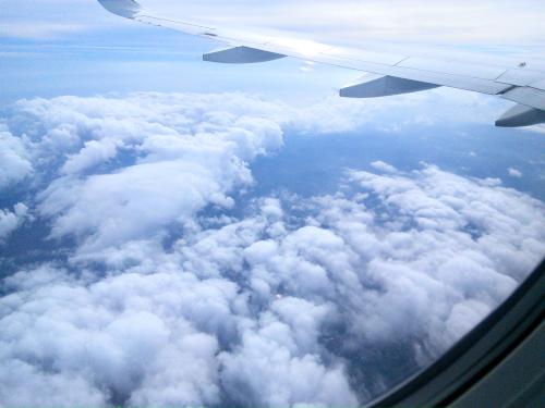 コスタリカ上空