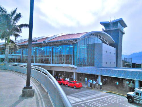 コスタリカサンホセの空港
