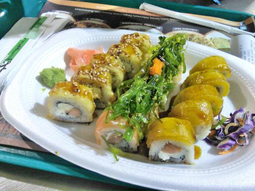 巻き寿司の盛り合わせ