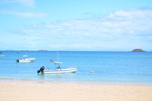 コイバ島への船
