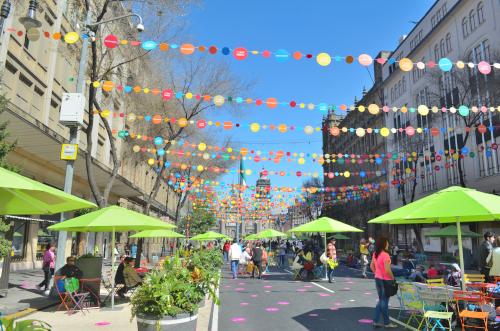 メキシコシティの町