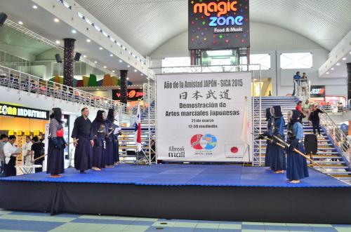 外国の剣道の演舞